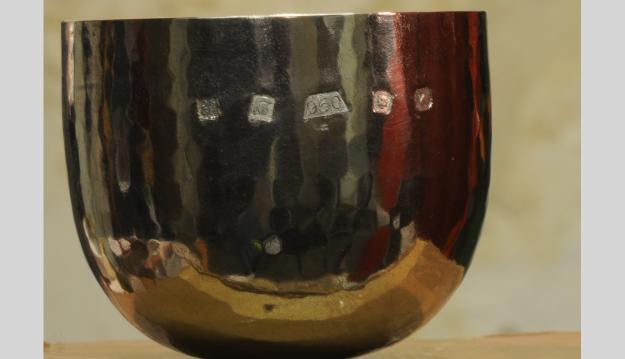 Palladium cup